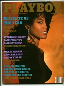 Renee is known as the first Black Playmate to have the honor of Playmate of the Year