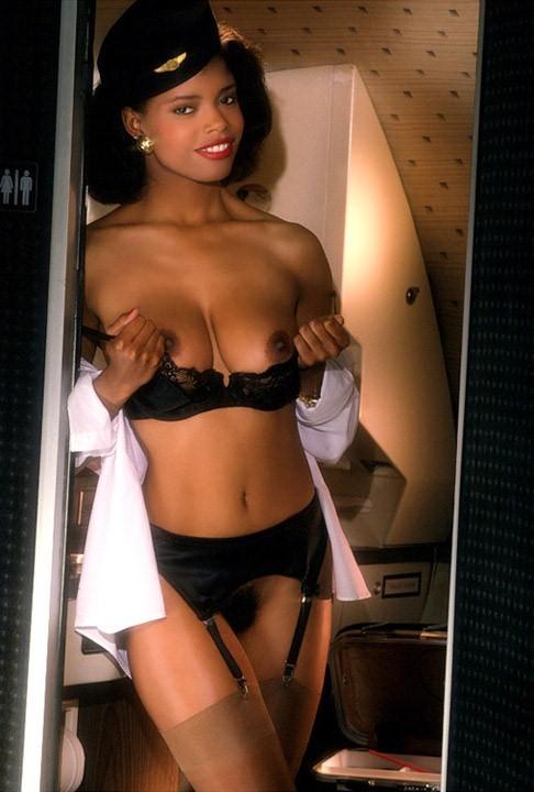 Adult lingerie model