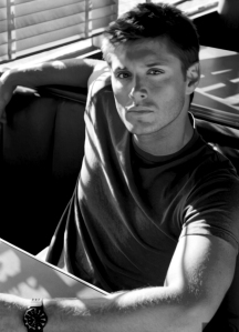 Actor Jensen Ackles as my muse for Jackson Fischer.